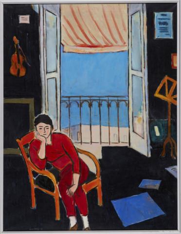 Tænker på Matisse  1965.