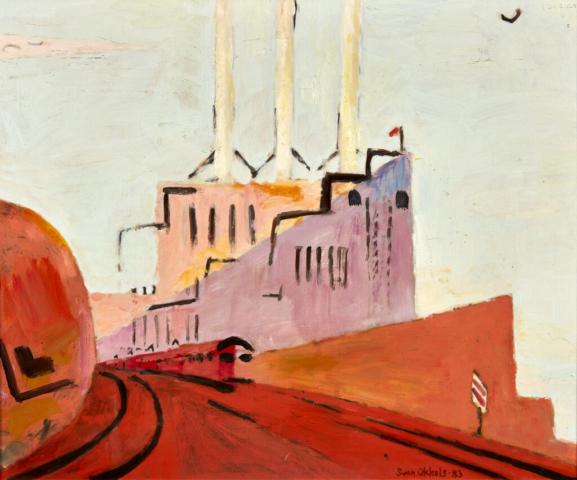 Svanemøllerværket 4 40x50 1983