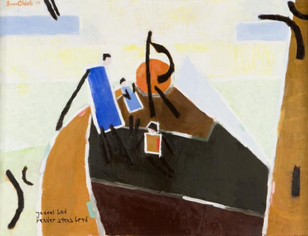 Sejltur på Øresund  2001