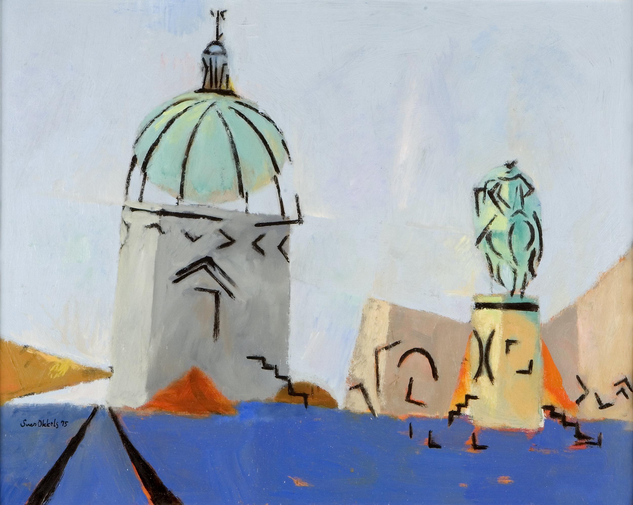 Amalienborg Slotsplads  1995